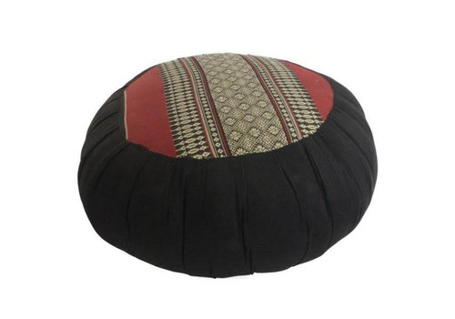 Fine Asianliving Fine Asianliving Thai Meditation Cushion Sitting Cushion Round Zafu Red 40x17cm