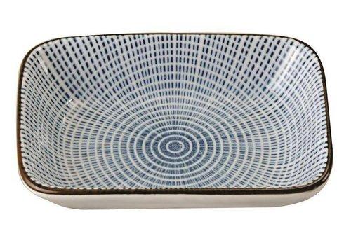 Fine Asianliving Japanese Tableware Sendan Choku Sojasaus Platetje 9.3 x 7 x 2.3 cm