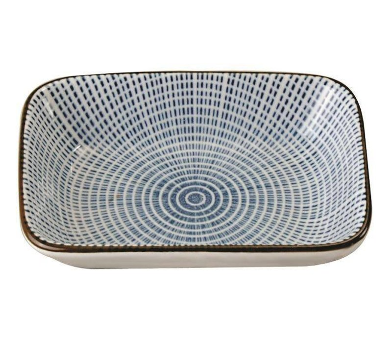 Japanese Tableware Sendan Choku Sojasaus Platetje 9.3 x 7 x 2.3 cm