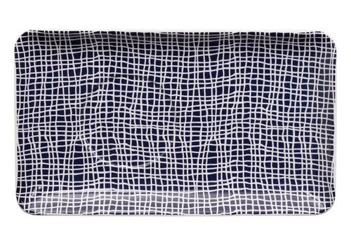 Fine Asianliving Blue de'Nimes Plate 20.5x12.5cm