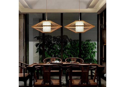 """Fine Asianliving Preorder Week 30 Fine Asianliving Bamboe Hanglamp Handgemaakt -  """"Sienna"""""""