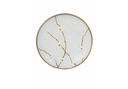 Fine Asianliving Soshun Blossom Matte Plate 23cm