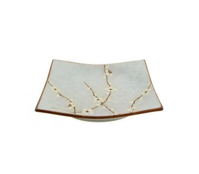 Soshun Fourhoekige Plate Matte 22.9 x 22.9 cm