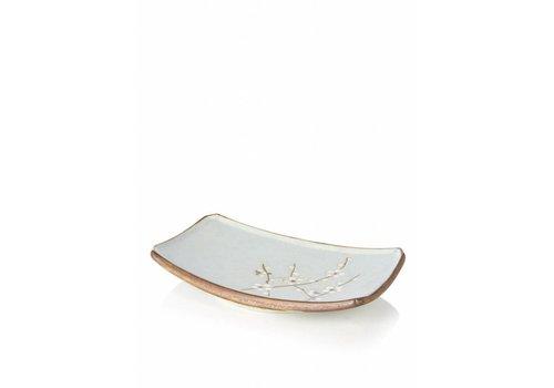 Fine Asianliving Soshun Plate Matte Rechthoekig 22x15cm