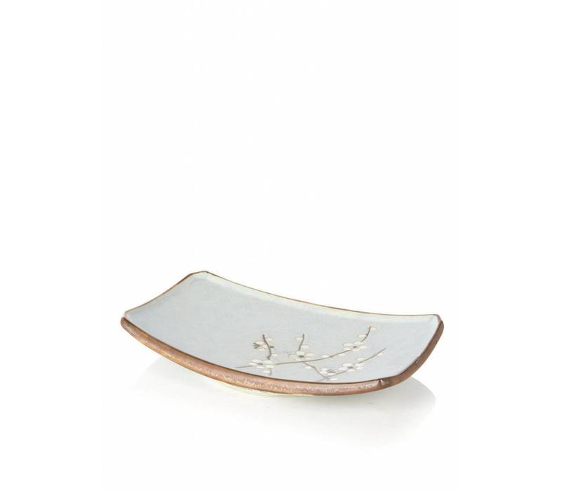 Soshun Plate Matte Rechthoekig 22x15cm