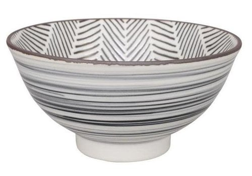 Fine Asianliving Herringbone Bowl 16x8 cm White