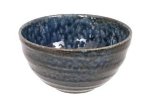 Fine Asianliving Blue Oribe Bowl 13.5x7.3cm Blue