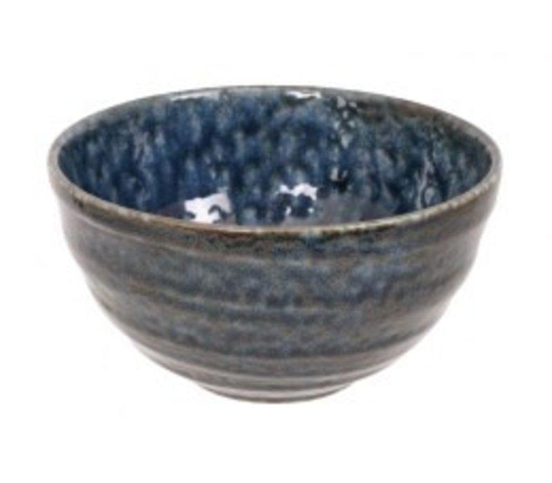 Blue Oribe Bowl 13.5x7.3cm Blue