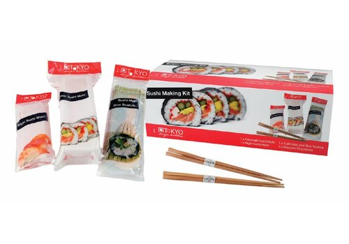 Fine Asianliving Japanese Sushi Making Kit 5-delig