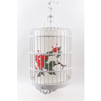 Chinese Bird Cage Pendant Lamp