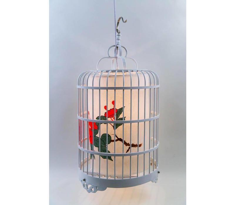 Lampada a Sospensione Cinese Gabbia per Uccelli