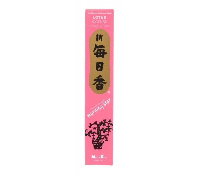 Morning Star Japanse Wierook Lotus 50st