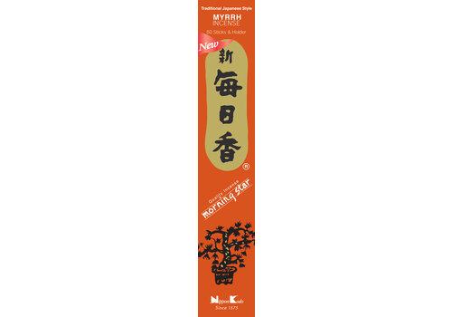 Fine Asianliving Morning Star Japanese Incense Myrrh 50pcs