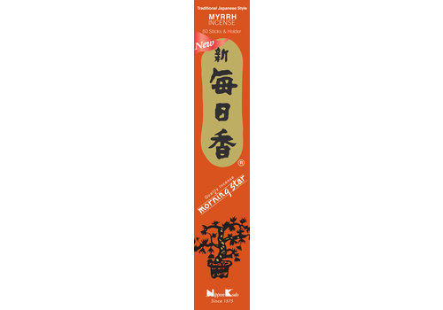 Fine Asianliving Morning Star Japanse Wierook Myrrh 50st