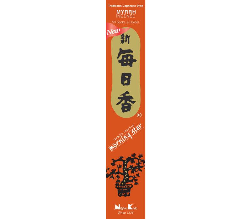 Morning Star Japanse Wierook Myrrh 50st