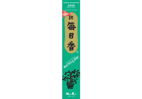 Fine Asianliving Morning Star Japanese Incense Sage 50pcs