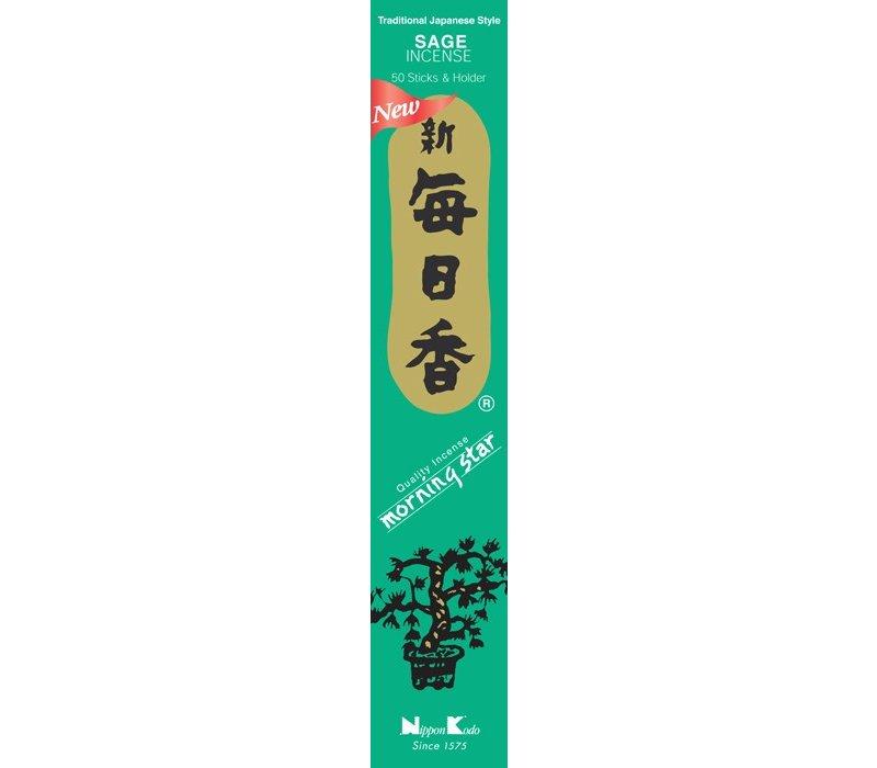Morning Star Japanese Incense Sage 50pcs