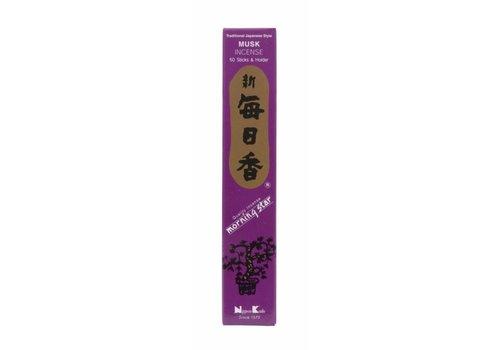 Fine Asianliving Morning Star Japanese Incense Musk 50pcs