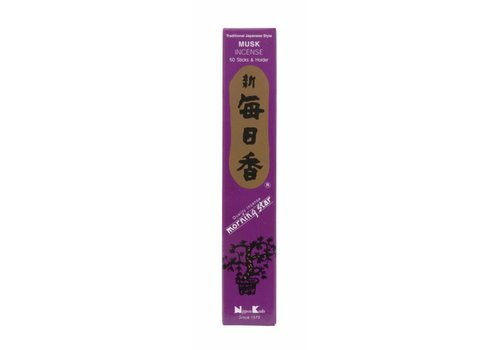 Fine Asianliving Morning Star Japanse Wierook Musk  50st