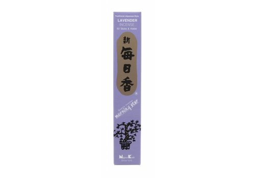 Fine Asianliving Morning Star Japanse Wierook Lavender  50st