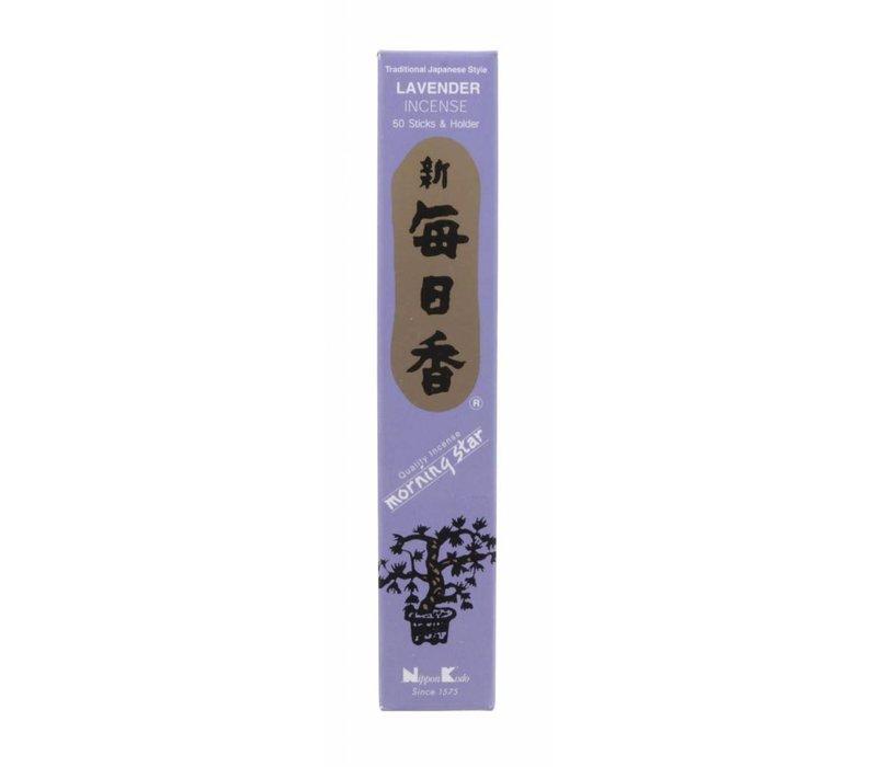 Morning Star Japanese Incense Lavender 50 pcs