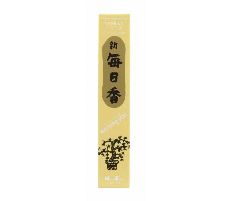 Morning Star Japanse Wierook Vanilla 50st