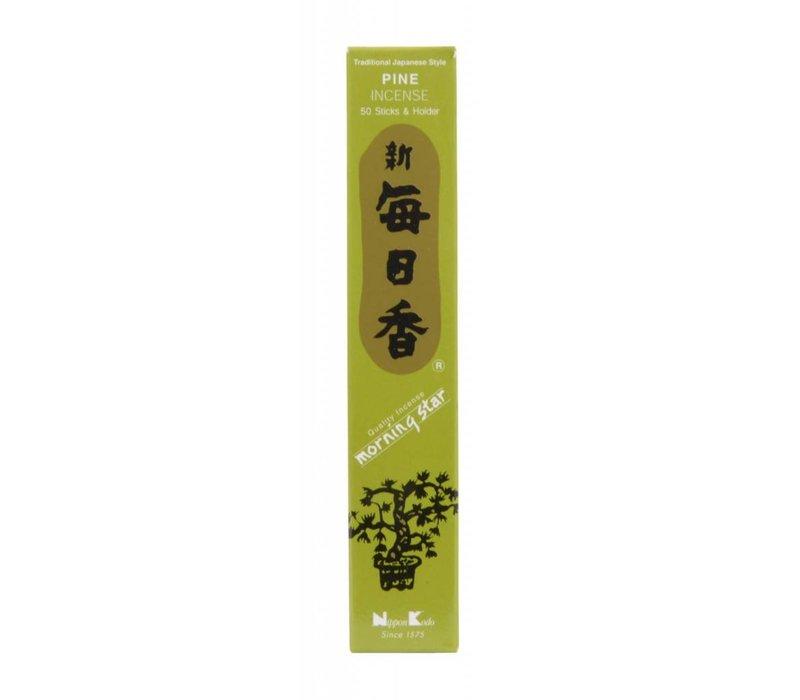 Morning Star Japanese Incense Pine 50pcs