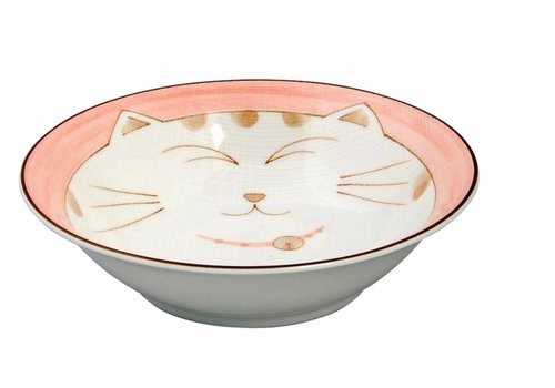 Fine Asianliving Kawaii kat kom 16.5cm roze