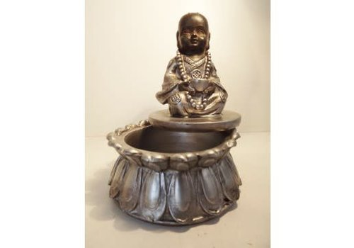 Fine Asianliving Small storage box monk 10 cm