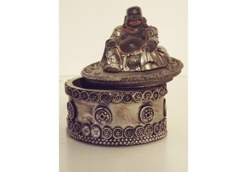 Fine Asianliving Lucky Buddha Storage box 6 cm