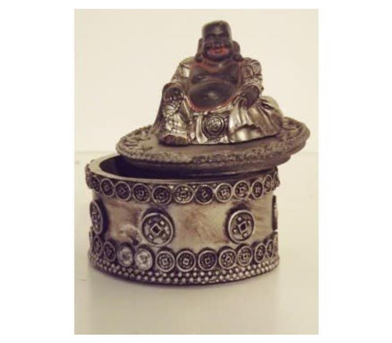 Lucky Boeddha Opbergdoosje 6 cm