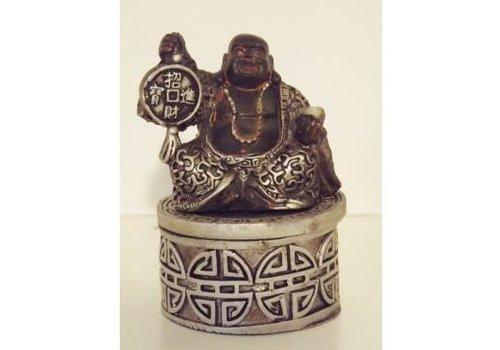 Fine Asianliving Lucky Boeddha Opbergdoosje 7,5 cm