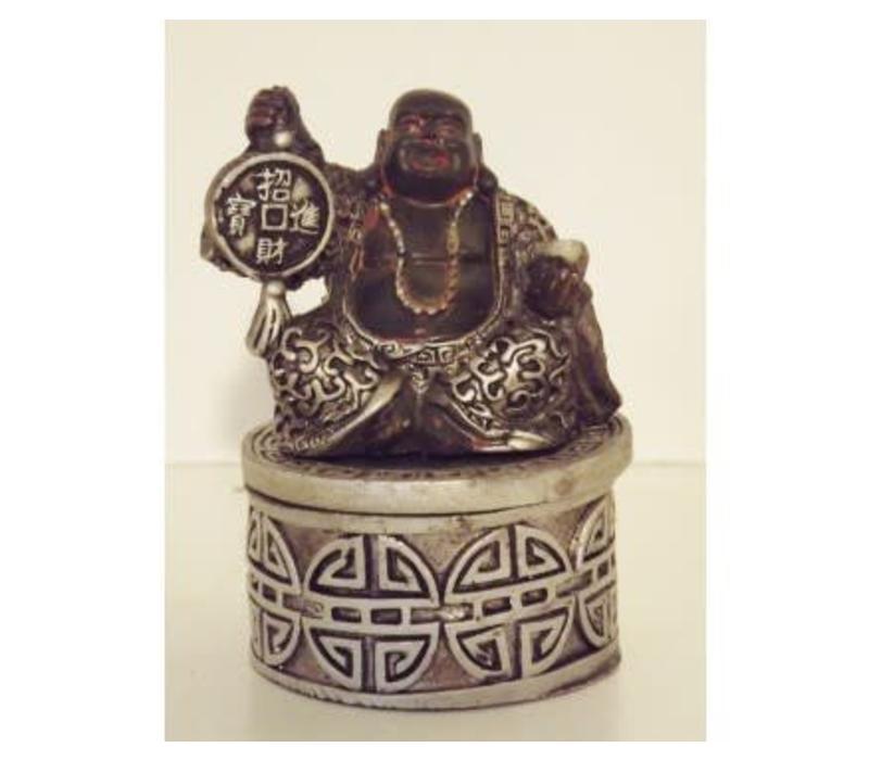 Lucky Boeddha Opbergdoosje 7,5 cm