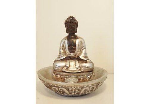 Fine Asianliving Incensebrander White Japanese Buddha