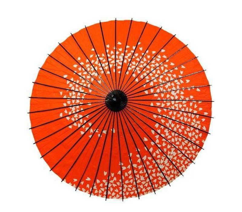 Japanse Parasol Lak Cherryblossom Ranke Rood
