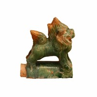 Pottery decoration roof tile dragon
