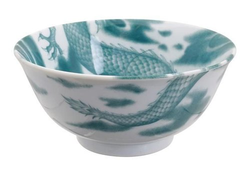 Fine Asianliving Dragon Tayo Bowl 15x7cm Blue