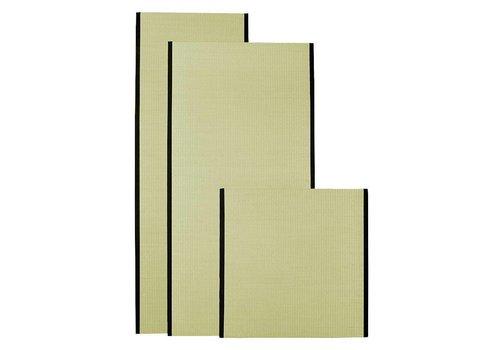 Fine Asianliving Tapis de Tatami Japonais 90x90x4,5cm