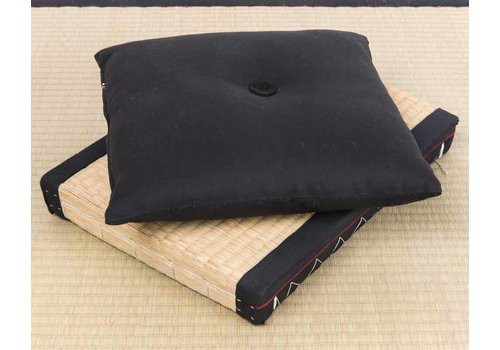 Fine Asianliving Japanese Cushion Black