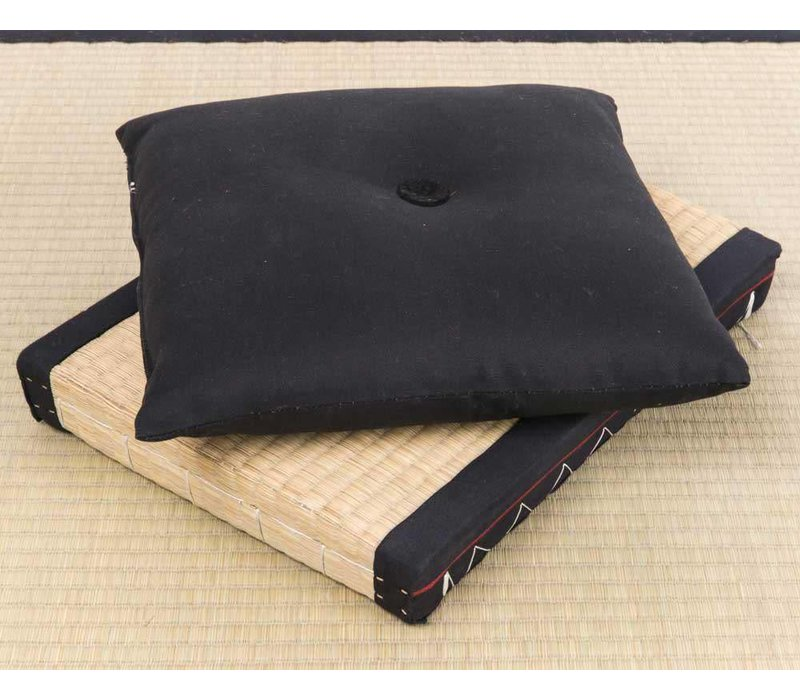 Japanese Cushion Black