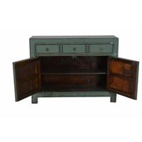 Chinees Dressoir Glassy Mint Groen  (1918-1930) - Gansu, China