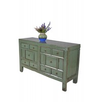 Chinees Dressoir met Lades Mint (1900-1925) - Shanxi, China