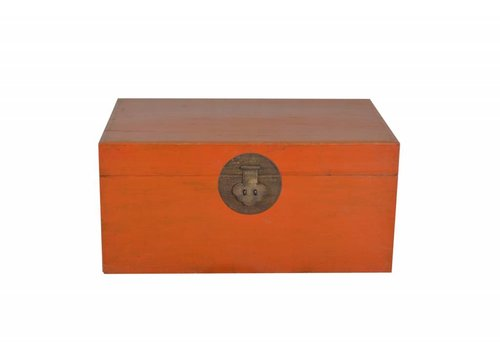 Fine Asianliving Fine Asianliving Chinese Storage Box Red -Beijing, China