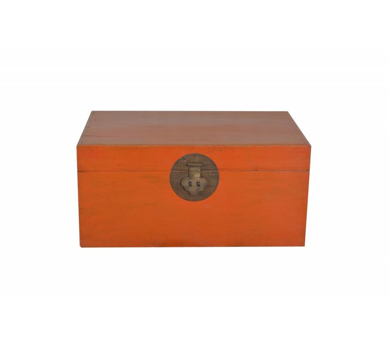 Fine Asianliving Chinese Storage Box Red -Beijing, China