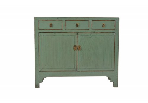 Fine Asianliving Chinees Dressoir Met Drie Lades  - Shandong, China