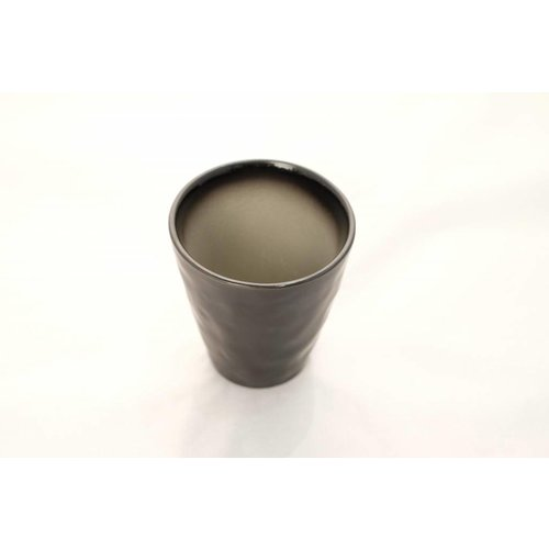 Kyoto Glassy Grey Mug 8.5cm