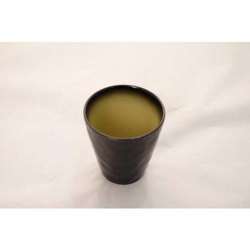 Kyoto Glassy Yellow Mug 8.5cm