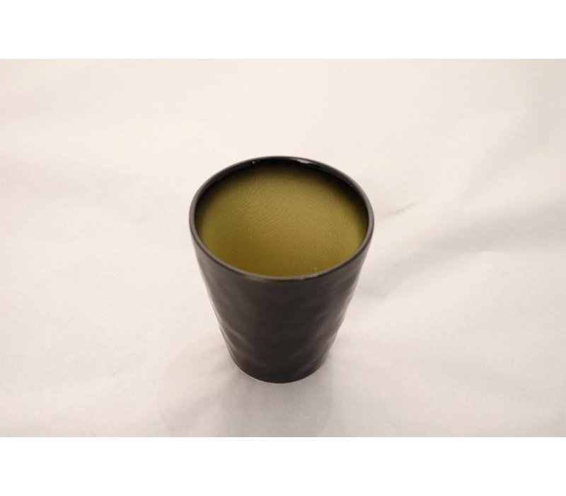 Kyoto Glassy Yellow Mok 8.5cm