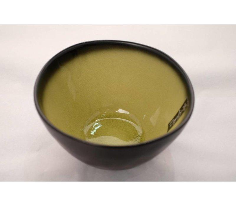Kyoto Glassy Yellow Noodle Bowl 14.5cm