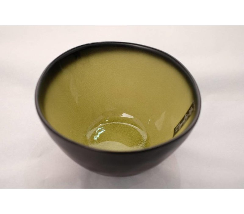 Kyoto Glassy Yellow Noodle Kom 14.5cm